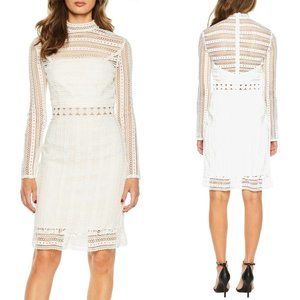 """BAROT """"Vivian"""" Embroidered Lace Dress"""